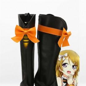 Love Live ! KiRa-KiRa Sensation Koizumi Hanayo Black Cosplay Boots