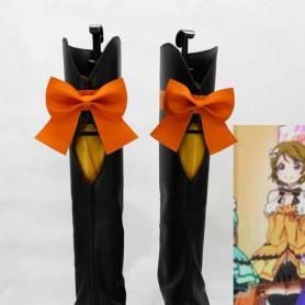 Love Live ! KiRa-KiRa Sensation! Koizumi Hanayo Cosplay Boots