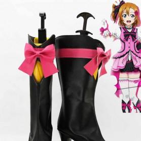 Love Live ! KiRa-KiRa Sensation! Kousaka Honoka Cosplay Boots