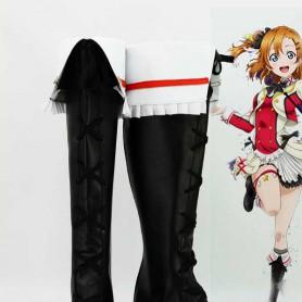Love Live! 2 Yazawa Nico Black Cosplay Boots