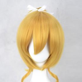 Love Live! Ayase Eri Gold Cosplay Wig