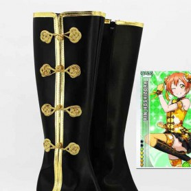 Love Live! cheongsam Awakening Hoshizora Rin Cosplay Boots