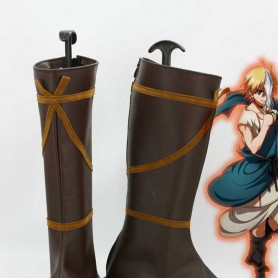 Magi: The Labyrinth of Magic Alibaba Saluja Cosplay Boots