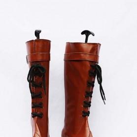 11eyes: Tsumi to Batsu to Aganai no Shojo Brown Female Cosplay Boots