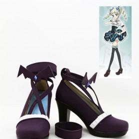 Aikatsu! Yurika Todo Black Cosplay Shoes