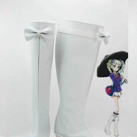 Aikatsu! Yurika Todo White Starlight School Cosplay Shoes