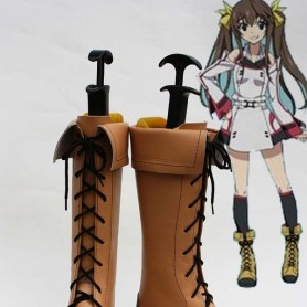 Infinite Stratos Huang Lingyin Coplay Boots