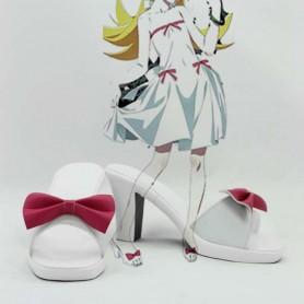 Monogatari Shinobu Oshino Hight Heel Cosplay Shoes