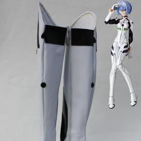 Neon Genesis Evangelion Ayanami Rei Cosplay Boots