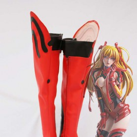 Neon Genesis Evangelion Cosplay Asuka Red Cosplay Boots