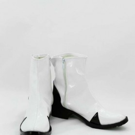 Neon Genesis Evangelion Cosplay Rei Ayanami White Short Cosplay Boots