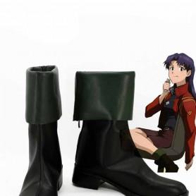 Neon Genesis Evangelion Misato Katsuragi Cosplay Boots