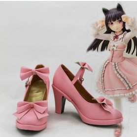 Oreimo Cosplay Black Cat Gokou Ruri Cosplay Shoes