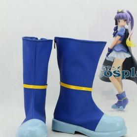 Oreimo Cosplay Gokou Ruri Blue Cosplay Boots