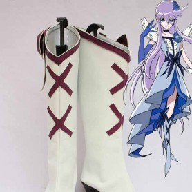 Pretty Cure Cure Moonlight White Cosplay Boots