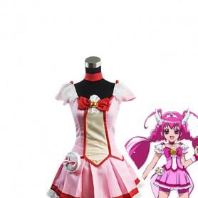 Smile Pretty Cure Hoshizora Miyuki/Cure Happy Cosplay Costume