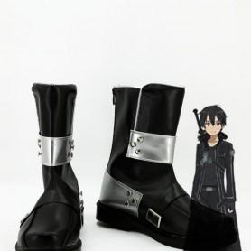 Newest Sword Art Online Cosplay Kirito Short Coslay Boots
