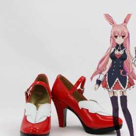 Problem Children are Coming from Another World Black Rabbit Cosplay Boots