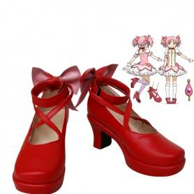 Puella Magi Madoka Magica Cosplay Kaname Madoka Cosplay Shoes