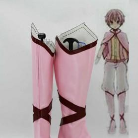 Puella Magi Madoka Magica Cosplay Kaname Madoka Pink Cosplay Boots