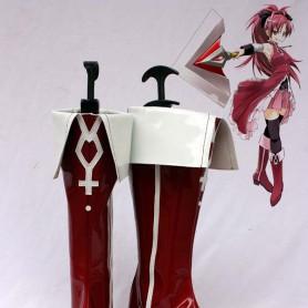 Puella Magi Madoka Magica Cosplay Kyoko Sakura Cosplay Boots