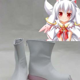 Puella Magi Madoka Magica Cosplay Kyubey Cosplay Boots
