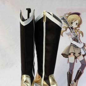 Puella Magi Madoka Magica Cosplay Tomoe Mami's Cosplay Boots
