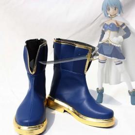 Puella Magi Madoka Magica Miki Sayaka Short Cosplay Boots