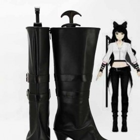 RWBY Black Trailer Blake Belladonna Hight Heel Cosplay Boots