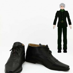 RWBY Professor Ozpin Black Cosplay Shoes