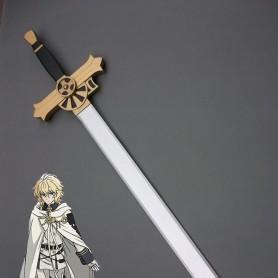 Seraph of the End Mikaela Hyakuya Wood Cosplay Sword