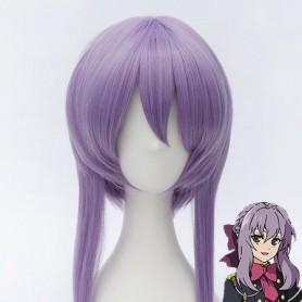 Seraph of the End Shinoa Hiragi Light Purple Cosplay Wig