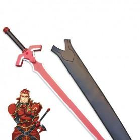 Sword Art Online ALO General Eugene Cosplay Wood Sword