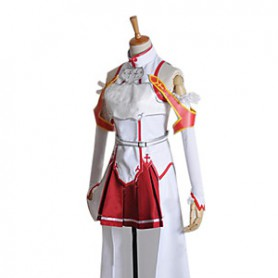Sword Art Online Cosplay Asuna Yuuki Cosplay Costume