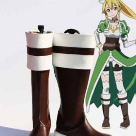 Sword Art Online Leefa/Kirigaya Suguha Cosplay Boots
