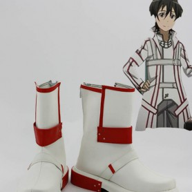 Sword Art Online Cosplay White Kirito Cosplay Boots