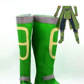 Sword Art Online Green Coslay Boots