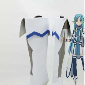 Sword Art Online Mother's Rosario Yuuki Asuna Cosplay Boots