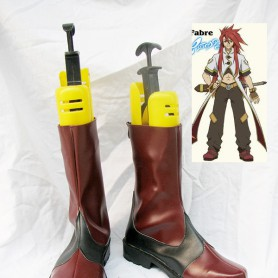 Tales of the Abyss Luke fon Fabre Black & Brown Cosplay Boots