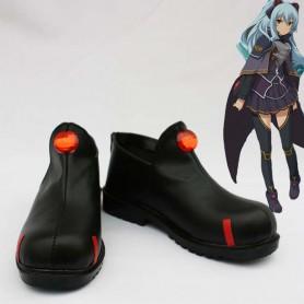 The Legend of Heroes Ao no Kiseki Tio Plato Black Cosplay Shoes
