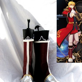 The Legend of Heroes VI 3RD Olivier Lenheim Cosplay Boots