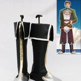 The Legend of Heroes VI Cassius Cosplay Boots