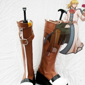 The Legend of Heroes VI:Sora no Kiseki Cosplay Olivier Lenheim Cosplay Show Boots