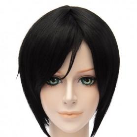 30cm Touken Ranbu Online Tantou Yagen Toushiro Black Cosplay Wig
