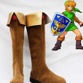 The Legend of Zelda Link Brown Cosplay Boots