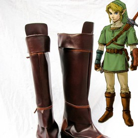 The Legend of Zelda link Cosplay Boots
