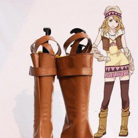 Tiger & Bunny Karina Lyle/Blue Rose Female Cosplay Boots
