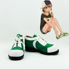 Toaru Majutsu no Index Misaka Mikoto Cosplay Shoes
