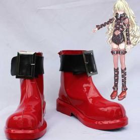 Toaru Majutsu no Index Sasha Kruezhev Buckle Cosplay Boots
