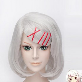 Tokyo Ghoul Juuzou Suzuya Silver Cosplay Wig